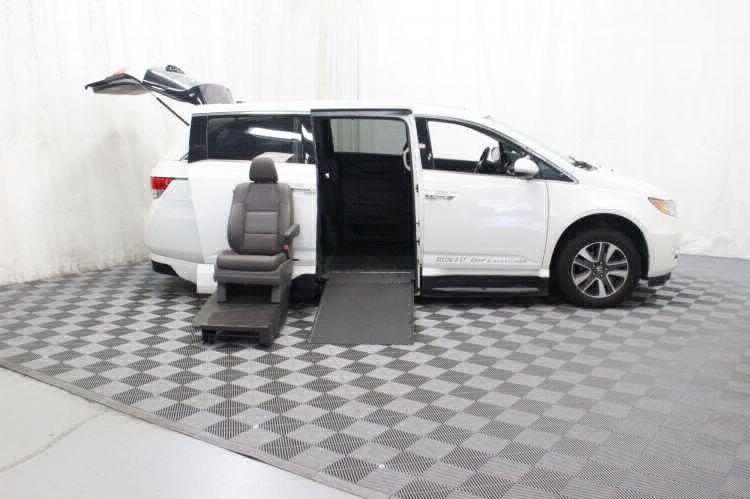 2014 Honda Odyssey Touring Elite Wheelchair Van For Sale #7