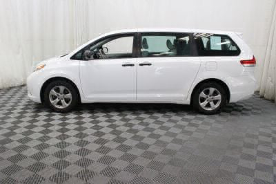 Commercial Wheelchair Vans for Sale - 2014 Toyota Sienna L ADA Compliant Vehicle VIN: 5TDZK3DC3ES478814
