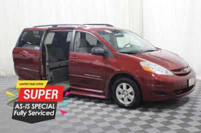 Handicap Van for Sale - 2010 Toyota Sienna LE Wheelchair Accessible Van VIN: 5TDKK4CC5AS306920