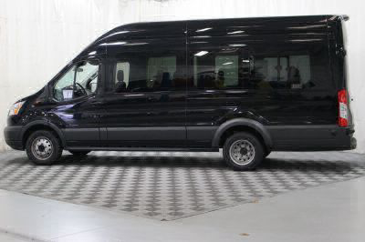 Commercial Wheelchair Vans for Sale - 2018 Ford Transit Passenger 350 XLT 15 ADA Compliant Vehicle VIN: 1FBVU4XM1JKA48529