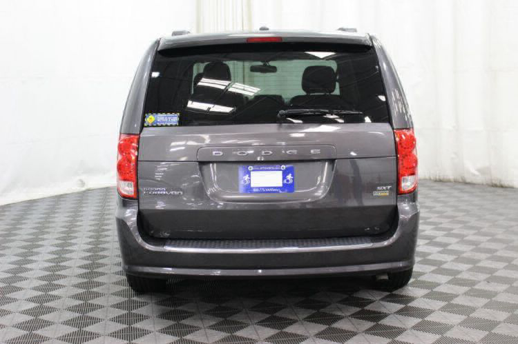 2017 Dodge Grand Caravan SXT Wheelchair Van For Sale #4