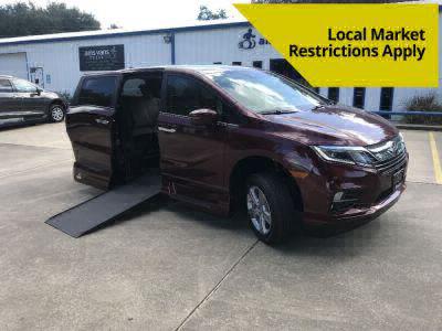 New Wheelchair Van for Sale - 2020 Honda Odyssey EX-LNR Wheelchair Accessible Van VIN: 5FNRL6H78LB066076
