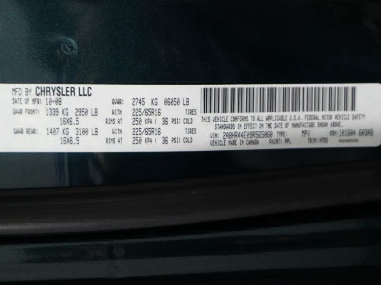 2009 Chrysler Town and Country LX Wheelchair Van For Sale #29