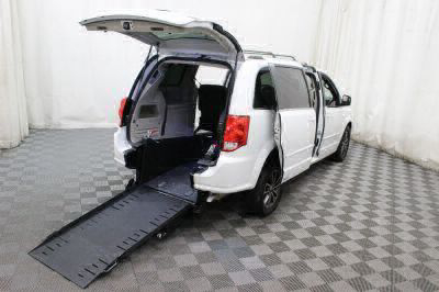 Commercial Wheelchair Vans for Sale - 2017 Dodge Grand Caravan SXT ADA Compliant Vehicle VIN: 2C4RDGCGXHR754098