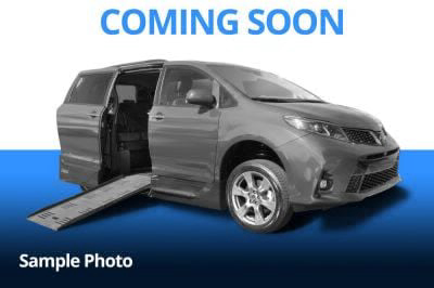 Handicap Van for Sale - 2018 Toyota Sienna LE Wheelchair Accessible Van VIN: 5TDKZ3DC6JS908651