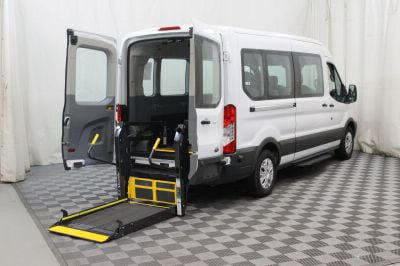 Commercial Wheelchair Vans for Sale - 2017 Ford Transit Wagon 350 XLT 15 ADA Compliant Vehicle VIN: 1FBAX2CM3HKA76391