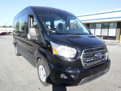 Commercial Wheelchair Vans for Sale - 2020 Ford Transit Passenger Mid-Roof 350 XLT - 15 ADA Compliant Vehicle VIN: 1FBAX2C88LKA15159