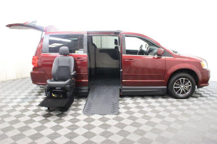 2017 Dodge Grand Caravan SXT Wheelchair Van For Sale #14