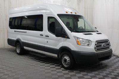 Commercial Wheelchair Vans for Sale - 2018 Ford Transit Passenger 350 XLT 15 ADA Compliant Vehicle VIN: 1FBVU4XM5JKA26596