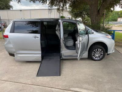 New Wheelchair Van for Sale - 2020 Toyota Sienna XLE Wheelchair Accessible Van VIN: 5TDYZ3DC5LS036556