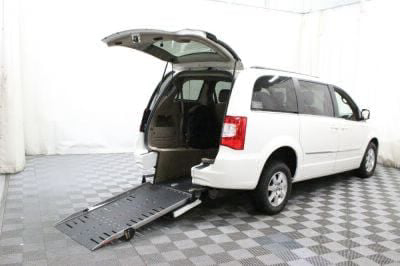 Commercial Wheelchair Vans for Sale - 2012 Chrysler Town & Country Touring ADA Compliant Vehicle VIN: 2C4RC1BG5CR306541
