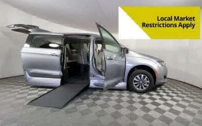 New Wheelchair Van for Sale - 2020 Chrysler Pacifica Touring-L Plus Wheelchair Accessible Van VIN: 2C4RC1EG2LR217313