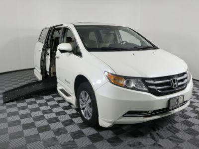 Used Wheelchair Van for Sale - 2014 Honda Odyssey EX-L Wheelchair Accessible Van VIN: 5FNRL5H69EB125043