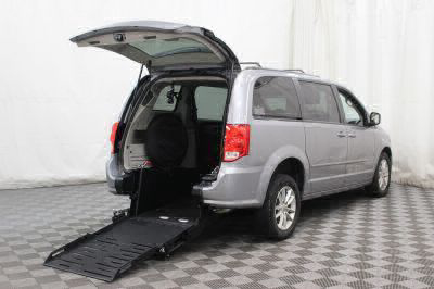 Commercial Wheelchair Vans for Sale - 2016 Dodge Grand Caravan SXT ADA Compliant Vehicle VIN: 2C4RDGCG5GR330049