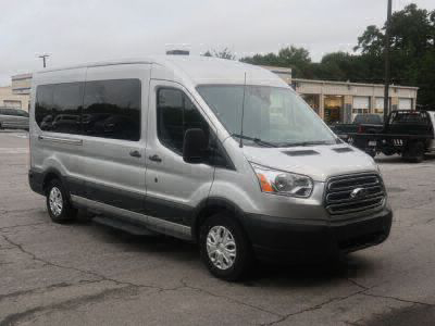New Wheelchair Van for Sale - 2019 Ford Transit Passenger Mid-Roof 350 XLT - 15 Wheelchair Accessible Van VIN: 1FBAX2CMXKKB06431