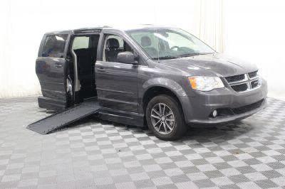 Handicap Van for Sale - 2017 Dodge Grand Caravan SXT Wheelchair Accessible Van VIN: 2C4RDGCG1HR606275