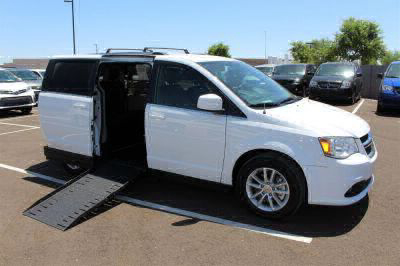 New Wheelchair Van for Sale - 2018 Dodge Grand Caravan SXT Wheelchair Accessible Van VIN: 2C4RDGCG0JR265702