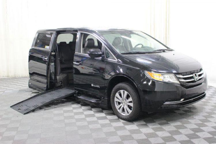 2014 Honda Odyssey EX-L Wheelchair Van For Sale #1
