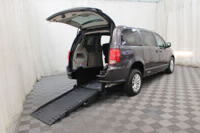 Commercial Wheelchair Vans for Sale - 2018 Dodge Grand Caravan SXT ADA Compliant Vehicle VIN: 2C4RDGCG2JR223208