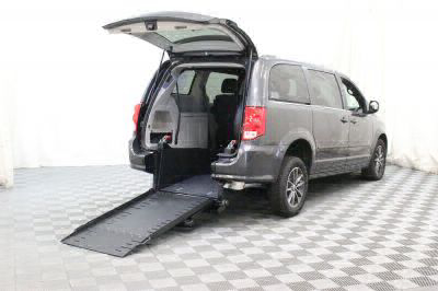 Commercial Wheelchair Vans for Sale - 2017 Dodge Grand Caravan SXT ADA Compliant Vehicle VIN: 2C4RDGCG6HR748959