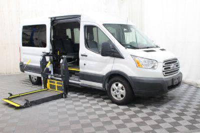Commercial Wheelchair Vans for Sale - 2017 Ford Transit Passenger 350 XLT 15 ADA Compliant Vehicle VIN: 1FBAX2CM0HKA97604