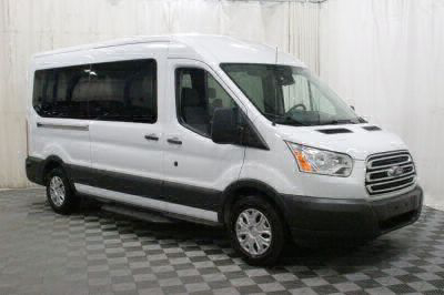 Commercial Wheelchair Vans for Sale - 2018 Ford Transit Passenger 350 XLT ADA Compliant Vehicle VIN: 1FBAX2CM6JKA56299
