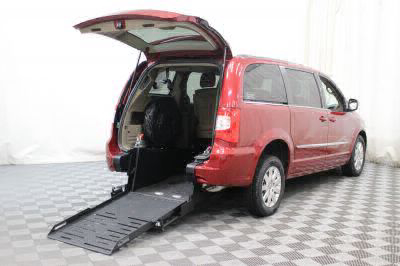Commercial Wheelchair Vans for Sale - 2013 Chrysler Town & Country Touring ADA Compliant Vehicle VIN: 2C4RC1BG0DR755255