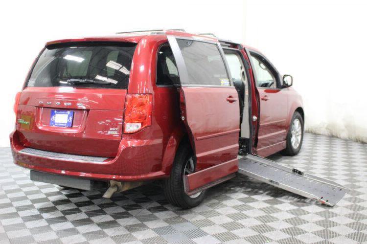 2014 Dodge Grand Caravan SXT Wheelchair Van For Sale #3