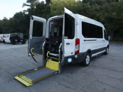 Used Wheelchair Van for Sale - 2017 Ford Transit Passenger 350 XLT Wheelchair Accessible Van VIN: 1FBAX2CMXHKA97559