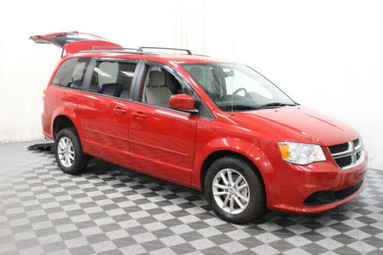 2014 Dodge Grand Caravan SXT Wheelchair Van For Sale #10
