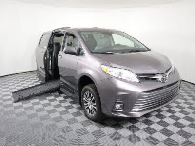 Handicap Van for Sale - 2019 Toyota Sienna XLE Wheelchair Accessible Van VIN: 5TDYZ3DC0KS001924
