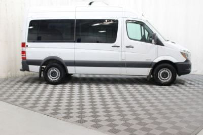 Commercial Wheelchair Vans for Sale - 2016 Mercedes-Benz Sprinter 2500 144 WB ADA Compliant Vehicle VIN: WDZPE7DD2GP299420