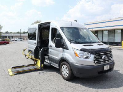 Commercial Wheelchair Vans for Sale - 2017 Ford Transit Passenger 350 XLT ADA Compliant Vehicle VIN: 1FBAX2CM6HKB04555