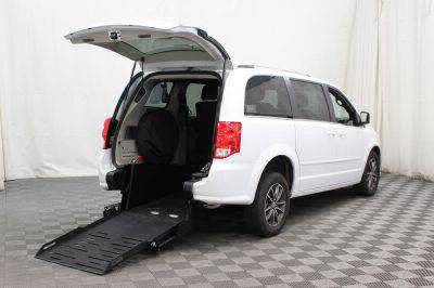 Commercial Wheelchair Vans for Sale - 2017 Dodge Grand Caravan SXT ADA Compliant Vehicle VIN: 2C4RDGCG6HR677505