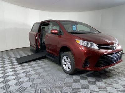 New Wheelchair Van for Sale - 2020 Toyota Sienna LE Standard Wheelchair Accessible Van VIN: 5TDKZ3DC3LS058917