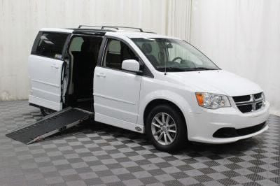 Used Wheelchair Van for Sale - 2014 Dodge Grand Caravan SXT Wheelchair Accessible Van VIN: 2C4RDGCG4ER128462