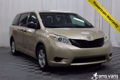 Commercial Wheelchair Vans for Sale - 2011 Toyota Sienna Base ADA Compliant Vehicle VIN: 5TDKA3DCXBS007985