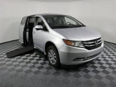 Used Wheelchair Van for Sale - 2014 Honda Odyssey EX-L Wheelchair Accessible Van VIN: 5FNRL5H69EB014766