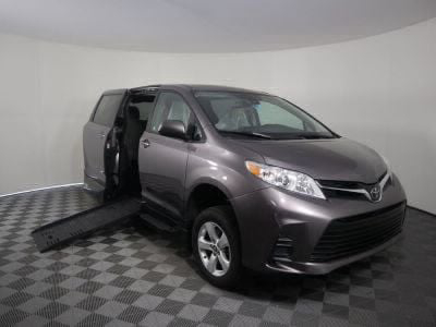 New Wheelchair Van for Sale - 2018 Toyota Sienna LE Standard Wheelchair Accessible Van VIN: 5TDKZ3DC0JS902876