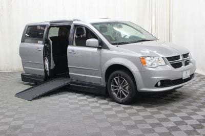 Handicap Van for Sale - 2017 Dodge Grand Caravan SXT Wheelchair Accessible Van VIN: 2C4RDGCG4HR546332