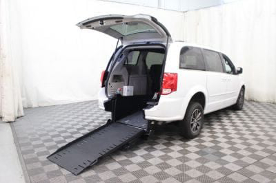 Commercial Wheelchair Vans for Sale - 2017 Dodge Grand Caravan SXT ADA Compliant Vehicle VIN: 2C4RDGCG7HR749599