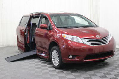 Commercial Wheelchair Vans for Sale - 2017 Toyota Sienna XLE ADA Compliant Vehicle VIN: 5TDYZ3DC4HS836076