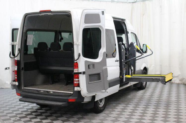 2016 Mercedes-Benz Sprinter 2500 144 WB Wheelchair Van For Sale #8