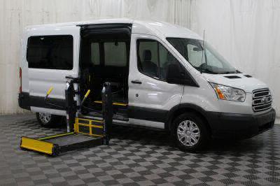 Commercial Wheelchair Vans for Sale - 2017 Ford Transit Passenger 350 XLT 15 ADA Compliant Vehicle VIN: 1FBAX2CM8HKB26136