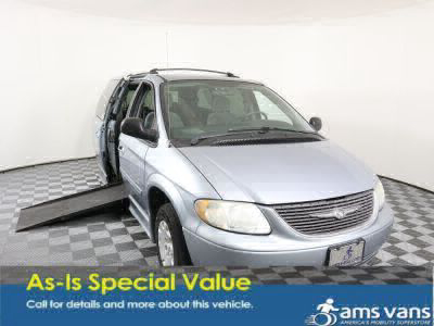 Used Wheelchair Van for Sale - 2004 Chrysler Town & Country LX Family Value Wheelchair Accessible Van VIN: 2C4GP44R24R621763