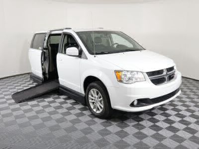 Handicap Van for Sale - 2018 Dodge Grand Caravan SXT Wheelchair Accessible Van VIN: 2C4RDGCG9JR179031