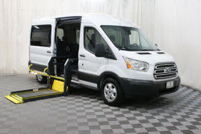 Used 2017 Ford Transit Wagon 350 XLT Wheelchair Van