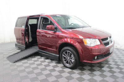 Handicap Van for Sale - 2017 Dodge Grand Caravan SXT Wheelchair Accessible Van VIN: 2C4RDGCG3HR843088