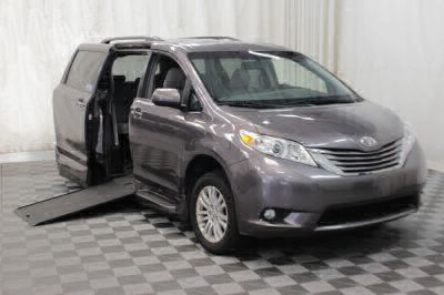 Commercial Wheelchair Vans for Sale - 2016 Toyota Sienna XLE 8-Passenger ADA Compliant Vehicle VIN: 5TDYK3DC3GS693320