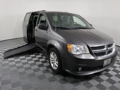 Handicap Van for Sale - 2018 Dodge Grand Caravan SXT Wheelchair Accessible Van VIN: 2C4RDGCG2JR238730